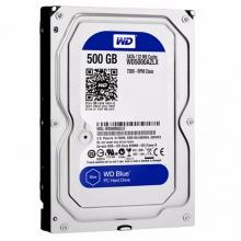 【拆机盘】 仅此一天西数500G硬盘 普通硬盘西数 500G EZLX 蓝盘西部数据(WD)蓝盘 500G SATA6Gb/s 7200转32M 台式机硬盘(WD5000AZLX)玩客云监控用