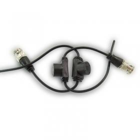 【正品行货 假一赔十】  双绞线传输器 适用于网线传输模拟信号转换TX-300C 模拟 收发器 无源 BNC转换   传输器