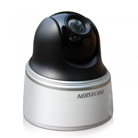 【正品行货 假一赔十  无质量问题不退不换】  海康威视DS-2DC2204IW-D3/W(B)摄像机200万像素2.5寸红外网络高清mini PTZ 摄像机,支持4倍光学变倍,焦距2.8-12mm,支持智能侦测