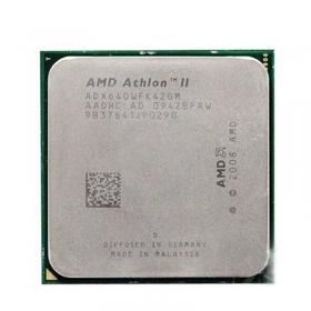 【质保三年】     AMD 速龙II X4 640 四核 AM3  2.8GHz  938针 散片CPU 拆机