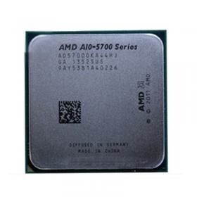 【质保三年】     AMD  FM2 A10 5700K3.4GHz 四核 台式机电脑CPU  散片 拆机