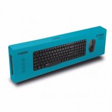 雷柏(Rapoo) X1800S 无线鼠标键盘套装 无线键盘鼠标套装 无线键鼠套装 电脑键盘 笔记本键盘