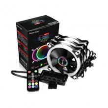 幻彩RGB风扇幻彩风扇机箱风扇幻彩流光风扇酷炫风扇