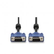 3米3+6VGA线15针公对公屏蔽磁环电脑连接线视频线显示器连接线