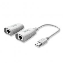 联刀MT-150FT USB1.1延长器 USB放大器 单网线50米USB延长线