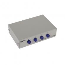 联刀MT-RJ45-4 4口 RJ45网络共享 内外网切换器 4进1出免插拔