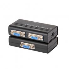 联刀 MT-2502AS 高清 VGA分配器分屏器 一分二 1进2出 同步输出相同画面