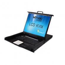 迈拓 MT-1916UL KVM切换器带LCD显示16口KVM四合一USB机架式19英