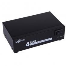 MT-104AV 迈拓维矩 音视频分配器 AV分配器 视频分配器 一进四出