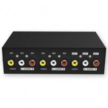 MT-231AV 迈拓维矩 音视频切换器 AV切换器 视频切换器 两进一出