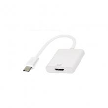 进口芯片#行货正品!一年换新!京华 TYPE-C转HDMI线 适用于笔记本,平板连接电视,投影仪