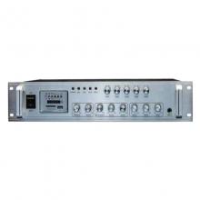 曼哈盾USB-650WT5P功放蓝牙,650W额定输出功率.三路话筒. 三路线路输入. (其中一路话筒输入有优先默音与叮咚功能).定阻/定压五分区独立音控输出。带USB插口SD插口.FM收音.遥控并带屏幕显示。分区音量独立可调。音响功放 音