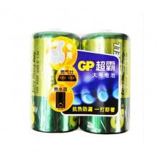 GP超霸一号 二号碳性电池 燃气灶热水器手电筒用大号大容量干电池批发(单节)