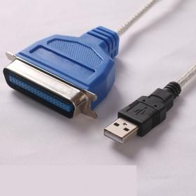 欧枫USB转并口打印机1284连接线