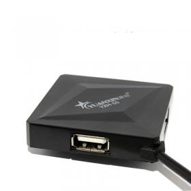源欣 usb电脑分线器一拖四扩展器 高速2.0电脑usb集线器线 1分4个USB