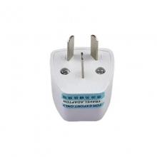 国标3项转换头  国标插座转接头 充电器转换器三脚转二脚