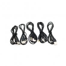 USB转DC充电线 USB电源转换线5V 电源线 DC5.5 4.0 3.5 2.5 2.0mm