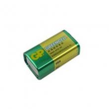 超霸9V电池GP超霸9V碳性电池 GP1604G-S1 6F22 无线话筒电池 玩具车电池测线仪电池