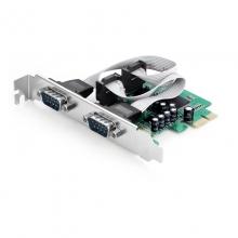 PCI-E串口卡 pcie转RS232扩展卡 COM口转接卡 工控多串口扩展卡 PEC-2011
