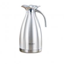 世龙定制版304不锈钢保温真空壶商用饭店餐厅茶水壶冷水壶耐高温大容量家用