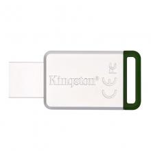 「全国联保 原装正品」金士顿(Kingston)USB3.1 16GB 32G可选 金属U盘 DT50 绿色