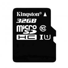 「记录仪专用卡」金士顿(Kingston)TFclass10高速卡 存储卡 内存卡 升级版 连续拍摄更流畅 终身保固32G