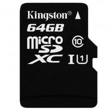 金士顿(Kingston)64GB TF(Micro SD) 存储卡 80M  连续拍摄更流畅 正品 代理货五年质保 全套带包装