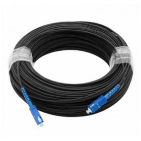 【正品行货 假一赔十】 室外皮线光缆成品皮线室外SC-SC光纤线成品单芯光缆200米 SC单模 皮缆 成品光纤跳线 200米皮缆
