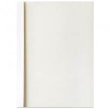 得力(deli)3865 热熔封套 热熔装订机专用装订封皮 A4/3mm(10个装)白色