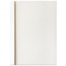 得力(deli)3866 热熔封套 热熔装订机专用装订封皮A4/4mm 10个/袋 白色