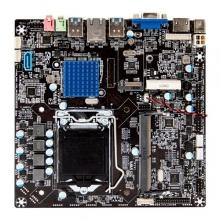 微步TH110-D3主板 工控主板 一体机主板 尺寸:17*17 支持678代CPU 支持3代笔记本内存 支持无线WIFI