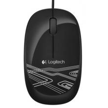 罗技M105 黑色罗技新品有线笔记本鼠标世龙专供 总代正品