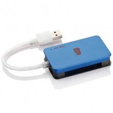 川宇C368 高速USB3.0读卡器多合一 MS CF SD TF手机卡 单反相机卡