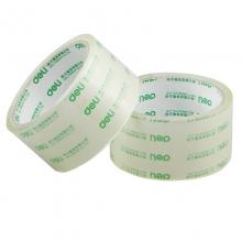 得力胶带30200 得力封箱胶带 打包带4.8cm透明包装胶带 透明胶带