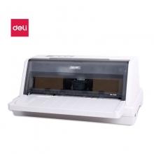 得力(deli)DL-610K 针式打印机 营改增税控发票打印机 前进纸(82列) 白色