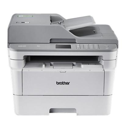 兄弟(brother)黑白激光多功能自动双面打印复印机扫描一体机 DCP-7195DW