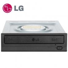 正品行货 假一罚十 LG 电脑内置光驱 DVD光存储 SATA接口光磁 黑色 24X内置DVD刻录机 GH24NSC0