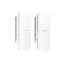 迅捷FWB505套装迅捷无线网桥5.8G 5公里 监控专用