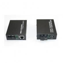 捷华视讯 单模单纤1光4电百兆光纤收发器一对的价格。质保三年,百兆一光四电光收发 质量超好