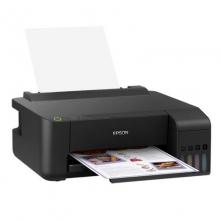爱普生(EPSON)墨仓式彩色喷墨A4家用小型原装连供照片打印机 L1119打印机(可打不干胶)