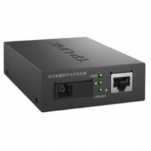 TP-LINK 百兆单模单纤光纤收发器SC单芯光电转换器 TL-FC111A/B一对