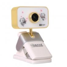 蓝色妖姬S8000(1080P)电脑摄像头 主播专用 美容高清 1920*1280分辨率 高清免驱