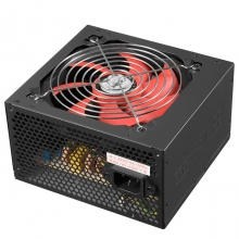 金河田黑盒S600 额定500W电源 台式机电源 电脑电源 主机电源 静音电源 宽幅电源
