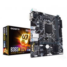 技嘉 B365M-D2V 游戏主板/加独显支持win7 8/9代CPU B365M D2V /支持M.2