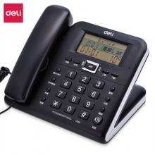 得力(deli)电话机座机 固定电话 办公家用 30°倾角 铃声选择 790 黑,白