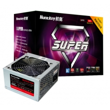 航嘉SUPER700盒装 额定600W 最大700W电源 航嘉额定600W电源 静音电源