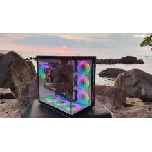 玩嘉罗宾II玩嘉罗宾II机箱 彩色机箱 USB3.0 电竞游戏炫酷电脑机箱 玩家必选