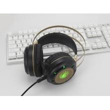 天籁N62金属震动发光耳机