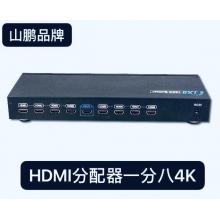 HDMI分配器一分八4K 120元一台
