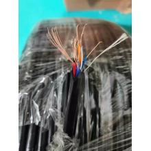 纯无氧铜室外防水综合网线 卷装   规格:纯无氧铜RVV2X0.3+T490  300米 4+2   型号:ZW-ZHT490